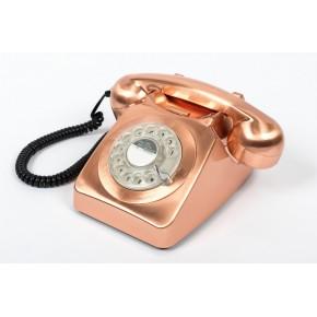 GPO 746 Classic Rotary Dial Home Telephone - Bronze