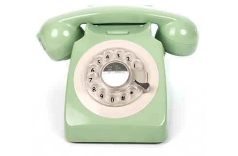 GPO 746 Classic Rotary Dial Home Telephone - Mint