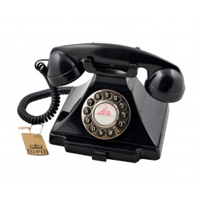 GPO Carrington Home Telephone - Black