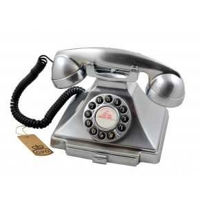GPO Carrington Home Telephone - Chrome