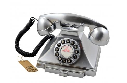 GPO Carrington Home Telephone - Chrome