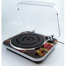 GPO Jam Vinyl Turntable - Union Jack