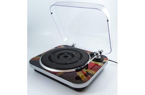 GPO Jam Vinyl Turntable - Union Jack