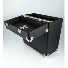 GPO Vinyl Record Case - Black