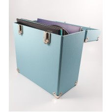 GPO Vinyl Record Case -Blue