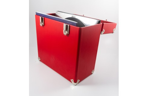 GPO Vinyl Record Case - Red