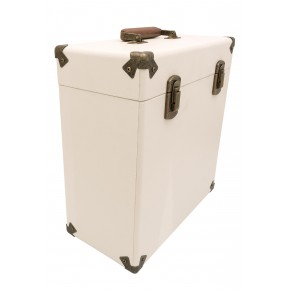 GPO Vinyl Record Case - Cream