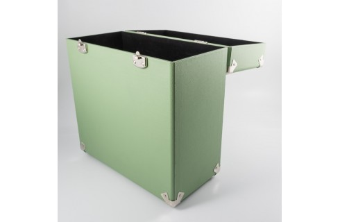 GPO Vinyl Record Case -Green