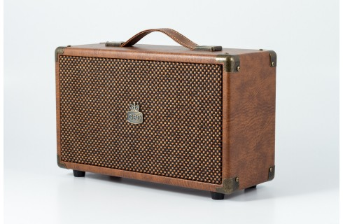 GPO Westwood Classic Style Bluetooth Speaker - Brown