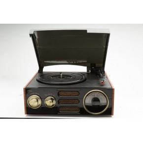 GPO Empire FM Radio & Vinyl Player