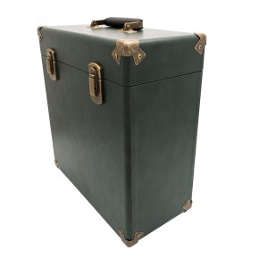 GPO Vinyl Record Case - Dark Green