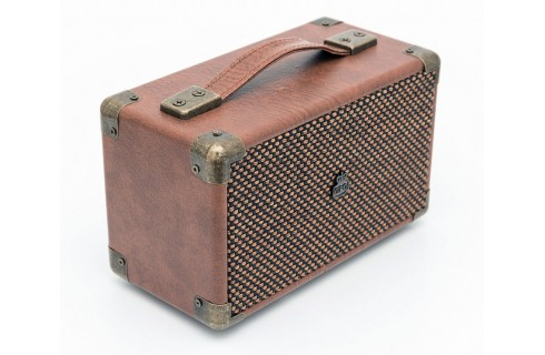 GPO Westwood Mini Classic Style Bluetooth Speaker - Brown