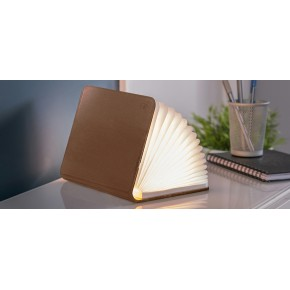 Gingko Smart BookLight Large - Brown Leather