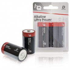 HQ Size D 1.5v Alkaline Battery 2-Pack