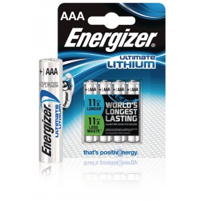 Energizer AA Lithium Battery 1.5v  4-Pack