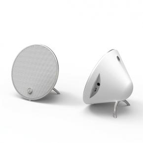 """Hama """"Cones"""" Mobile Bluetooth Speaker Set - White"""