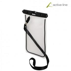 Hama Active Line Outdoor Bag for Smartphones, Size XXL - Black