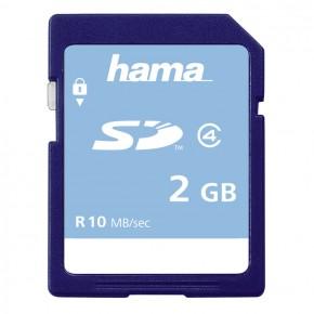 Hama SD 2GB Class 4 Memory Card