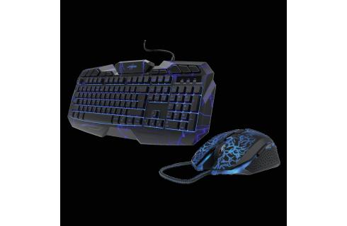 """Hama uRage """"Illumination"""" 2-in-1 Gaming Starter Set, Keyboard and Mouse"""