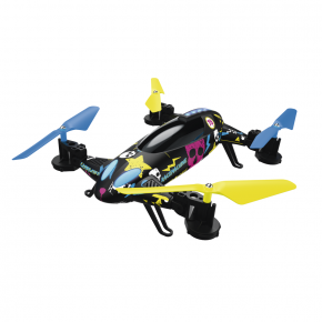Hama Racemachine 2-in-1 Quadrocopter/RC Car with 6-Axis Gyro-Sensor & 720p Camera.
