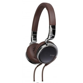 JVC esnsy on-ear headphones with remote and mic - Brown