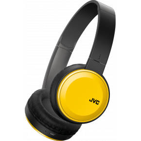 JVC HA-S30 Bluetooth Headphones - Yellow