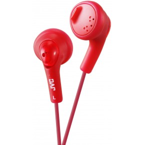 "JVC F160 ""Gumy"" Headphones - Red"