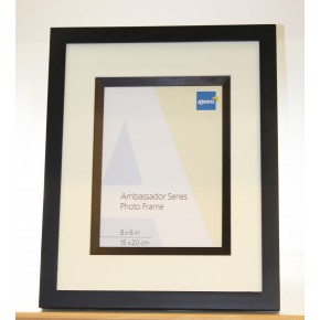 "Kenro Ambassador 8x6"" Frame -  Black"