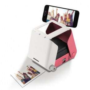 Tomy KiiPix Instant Printer for Smartphones - Cherry Blossom Pink