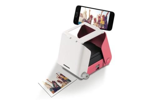 Tomy KiiPix Instant Printer for Smartphones - Cherry Blossom Pink