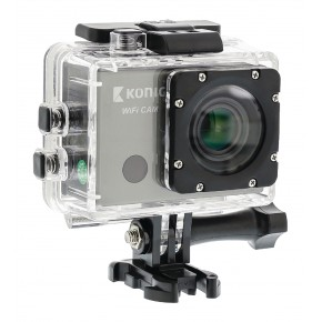 Konig Full HD Action Camera 1080p with Wi-Fi / GPS & Screen
