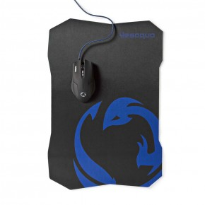 Nedis 6 Button 1600 DPi Wired Gaming Mouse & Mouse Pad Set