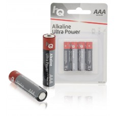 HQ AAA 1.5v Alkaline Battery 4 Pack