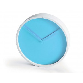 Lexon LR127 Glow Wall Clock - Blue
