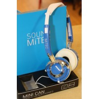 Mitec Sound Mini Can Wired On-ear Headphones - Blue