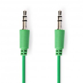 Nedis 3.5mm to 3.5mm 1 Metre Stereo Audio Cable - Green