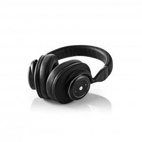 Nedis Bluetooth Over-Ear Headphones with Over-earActive Noise Cancelling (ANC) - Black
