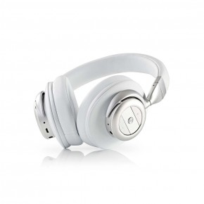 Nedis Bluetooth Over-Ear Headphones with Over-earActive Noise Cancelling (ANC) - White