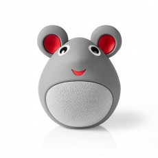 Nedis Animaticks Bluetooth Speaker with 3 hours playtime & Hands-free calling - Melody Mouse