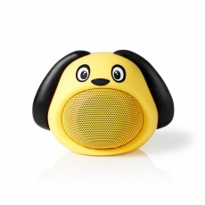 Nedis Animaticks Bluetooth Speaker with 3 hours playtime & Hands-free calling - Dusty Dog