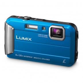 Panasonic Lumix DMC-FT30 Tough Waterproof Compact Camera - Blue