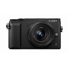 Panasonic Lumix DMC-GX80 & 12-32/35-100mm Lenses Compact System Camera Kit - Black