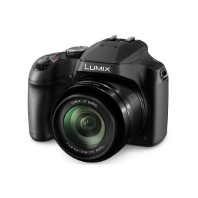 Panasonic Lumix Bridge Digital Camera DMC-FZ82, 32GB Card & Case Bundle  - Black