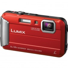 Panasonic Lumix DMC-FT30 Tough Waterproof Compact Camera - Red