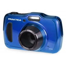 Praktica Luxmedia WP240 Waterproof Digital Camera - Blue