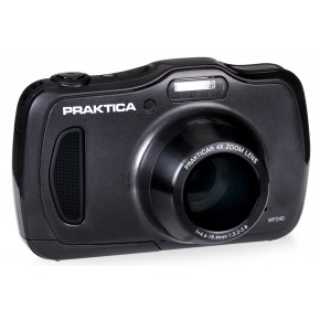 Praktica Luxmedia WP240 Waterproof Digital Camera - Graphite Grey