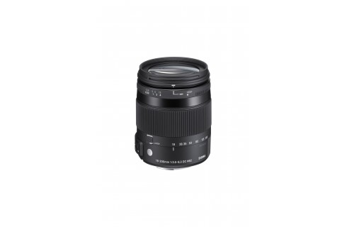 Sigma 18-200mm F3.5-6.3 DC Macro OS HSM | C Lens - For Canon