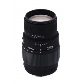 Sigma 70-300mm F4-5.6 DG Macro Lens - For Canon