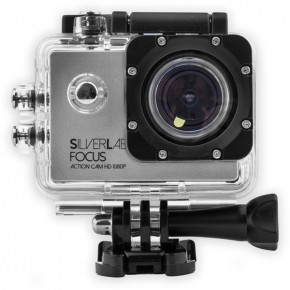 SilverLabel Focus 1080p HD 30 Metre Waterproof Action Camera