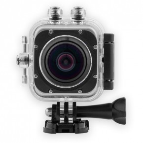 SilverLabel Focus 360° 1080p HD 30 Metres Waterproof Action Camera
